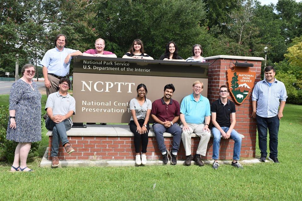 L'équipe internationale du NCPTT