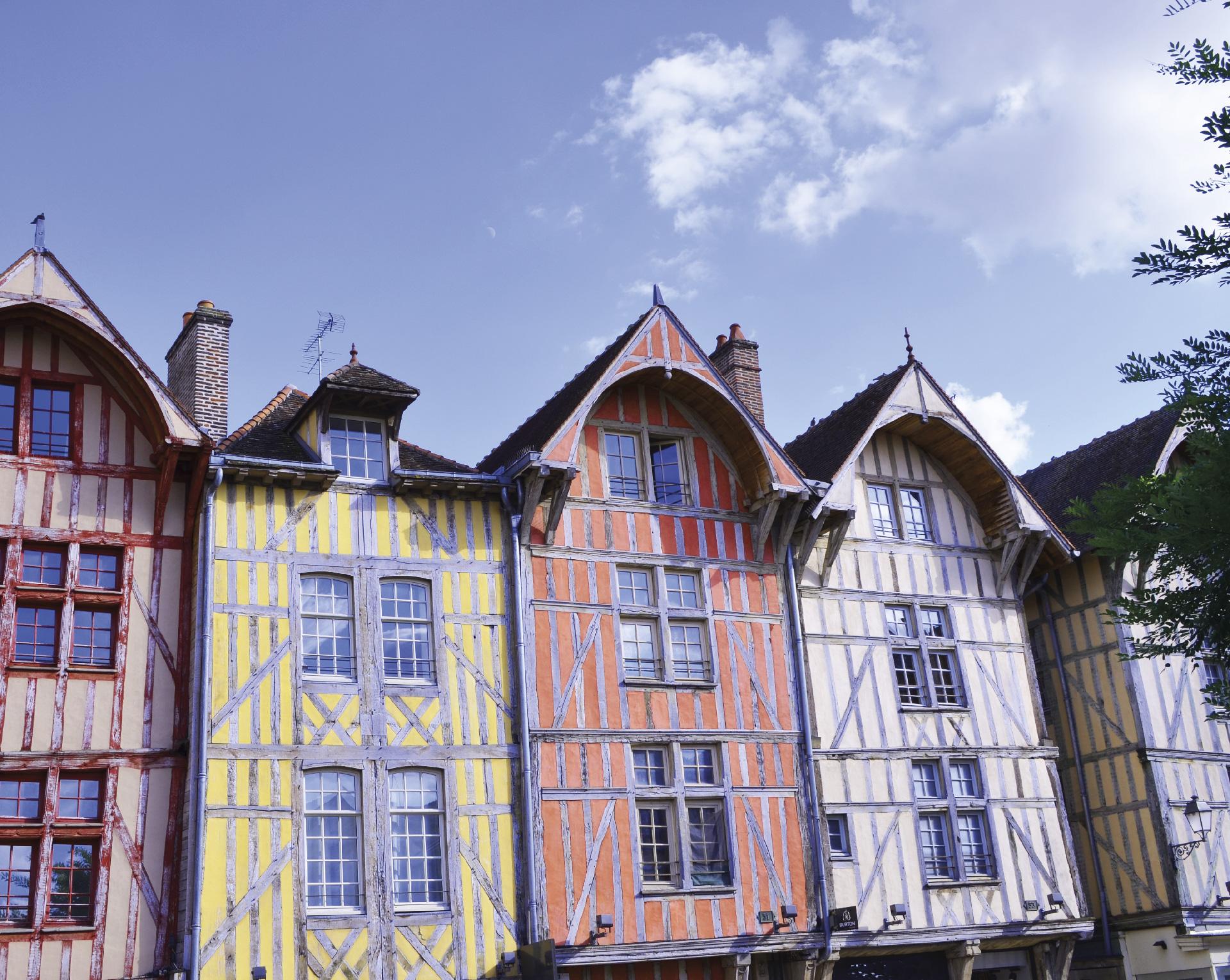 La ville de Troyes vitrine du patrimoine bâti